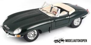 Jaguar E Cabriolet 1961 - Bburago 1:18