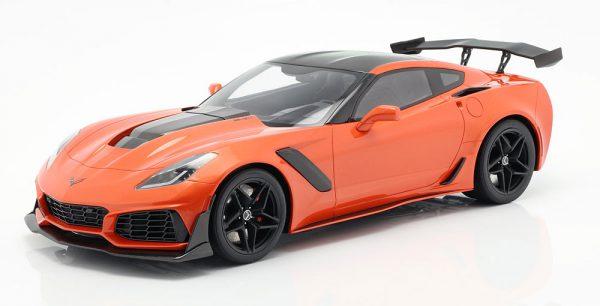 Chevrolet Corvette ZR1 Orange