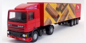 Cote d'Or DAF Truck 95XF - Lion Toys 1:50