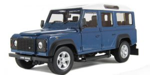 Land Rover Defender 1:24 (Blauw)