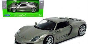 Porsche 918 Spyder Convertible - Welly 1:24