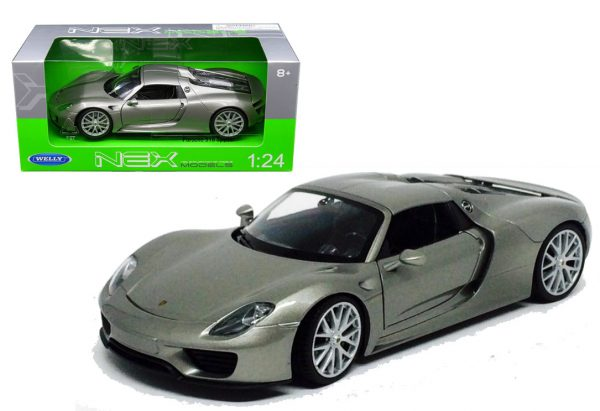 Porsche 918 Spyder Convertible - Welly 1:24
