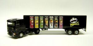 Pringles Truck met trailer - Lion-Toys 1:50