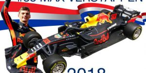 2018 Red Bull RB14 F1 #33 M.Verstappen