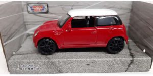 2017 Mini Cooper S Countryman Rood 1:43