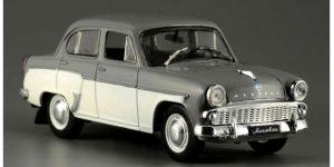 Moskvich 407 Sedan 1958 Soviet Union USSR