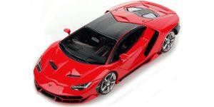 2017 Lamborghini Centenario Rood 1:43