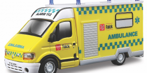 Renault Master Fire Brigade - Bburago 1:50