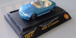 BMW Z3 Roadster 1:64 (007 James Bond)