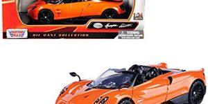 2018 Pagani Huaya Roadster / Oranje - Motor Max 1:24