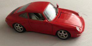 Porsche 911 Carrera 1993 - Bburago 1:18