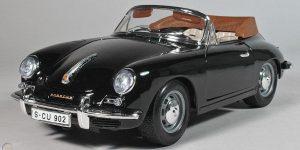 Porsche 356 B Cabriolet 1961 - Bburago 1/18