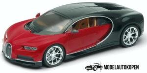 Bugatti Chiron Red 2016 - Welly 1:24