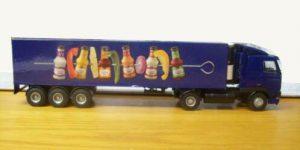 Calve Sauzen DAF Truck 95XF - Lion Toys 1:50