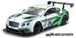 Bentley Continental GT3 (Wit