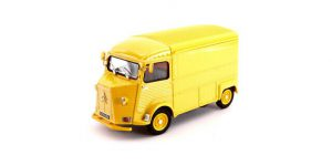 Citroen-HY-Type-1962-Yellow-Van-124-27-Model