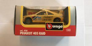 Peugeot 405 Raid 1:43