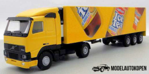 Ice Tea Truck met trailer - Lion Toys