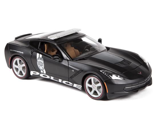 2014 Chevrolet Corvette Stingray Police - Maisto 1:18