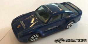 Porsche 959 (blauw) - Bburago