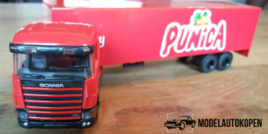 Punica Scania Truck met trailer - Lion Toys