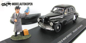 The Cold War Series Peugeot 203 black SDECE - IXO