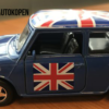 Welly Mini Cooper Blauw