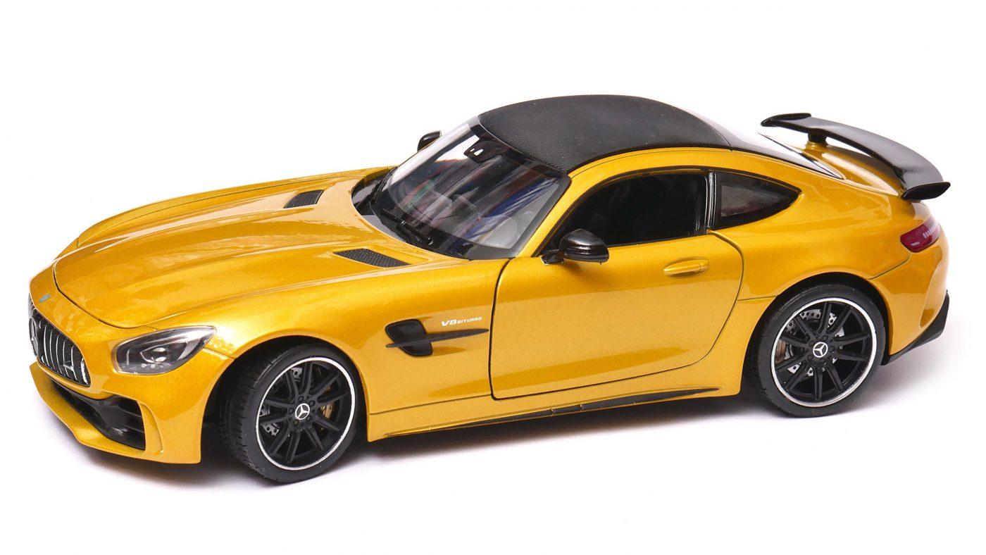 Mercedes AMG GT R - Welly 1:24/1:27