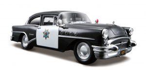 1955 Buick Century politieauto 1:24