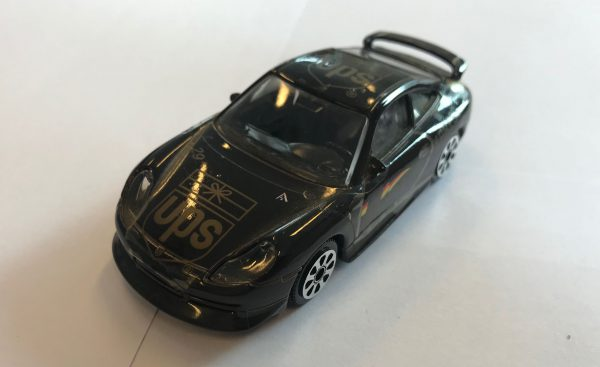 Porsche 911 Carrera (UPS) - Bburago 1:43