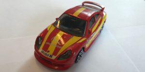 Porsche 911 Carrera (rood) - Bburago 1:43