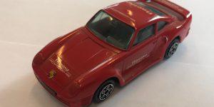 Porsche 959 (rood) - Bburago 1:43