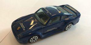 Porsche 959 (blauw) - Bburago 1:43
