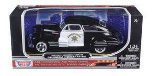 1948 Chevrolet Aerosedan Fleetline Highway Patrol Police - Motor Max 1/24