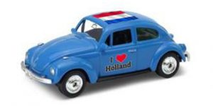1963 Volkswagen Kever (Blauw) / I love Holland - Welly 1:34