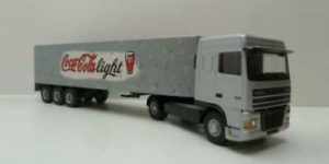 Coca Cola light Daf Truck - Lion Toys 1:50
