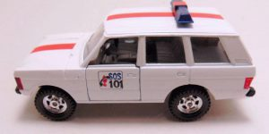 Range Rover SOSPolitie 1969 - Corgi 1:36 / Die Cast