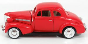 1939 Chevrolet coupe - 1:24 Motor Max
