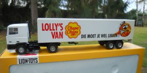 Sourcy DAF 95XF Truck met trailer - Lion Toys 1:50