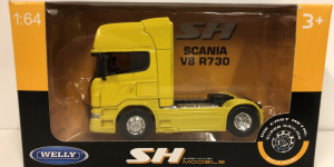 Scania Truck V8 r730 (Geel) - Welly 1/64