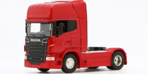Scania Truck V8 r730 (Rood) - Welly 1/64