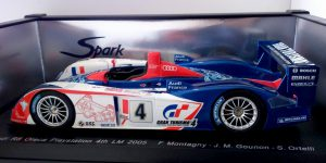 Audi R8 Oreca Playstation 4th LLeMans 2005 - Spark 1:18
