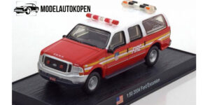 Ford Excursion 2004 Brandweerauto - del Prado 1:50
