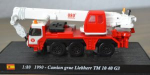 Camion Grue Liebherr TM 10 40 1990 - del Prado 1:80