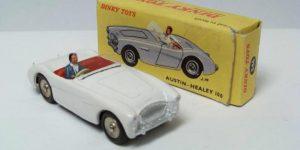 Austin Healey 100 - Dinky Toys 1:43