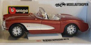 Chevrolet Corvette 1957 - Bburago 1:18