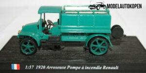 Arroseuse Pompe a incendie Renault 1920 - del Prado 1:57