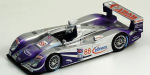 Audi R8 Team Veloqx nr. 88 2nd LeMans 2004 - Spark 1:18