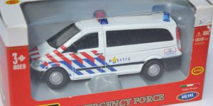 Emergency force politie auto - Bburago 1:50