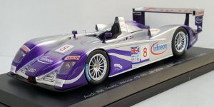 Audi R8 Team Veloqx nr. 8 5th LeMans 2004 - Spark 1:18